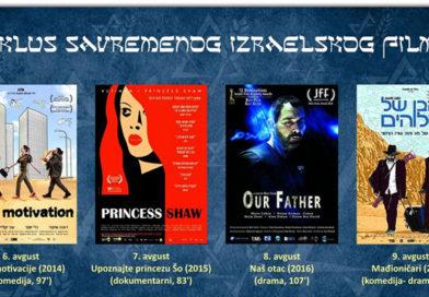 Циклус израелског филма у Градском позоришту – од 6. до 9. августа