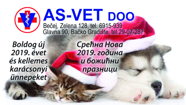 Čestitka As vet doo