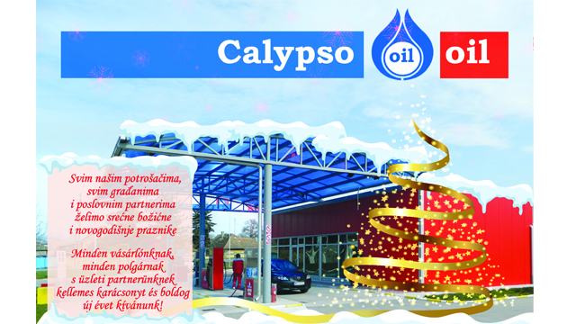 "Čestitka ""Calypso oil"""