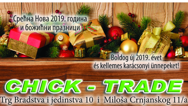 Čestitka Chick-trade