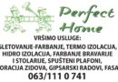 Perfect home – painter & decorator