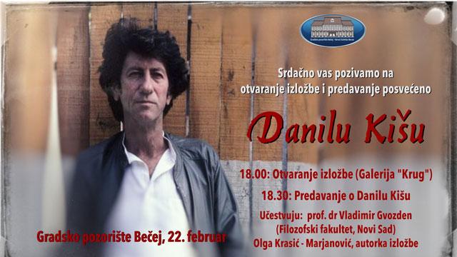 """Izložba """"Danilo Kiš – 30 godina kasnije u Gradskom pozorištu"""""""