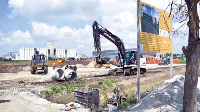 Италијанска фабрика у индустријској зони започела изградњу обејекта