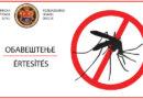 Obaveštenje o tretmanu odraslih formi komaraca