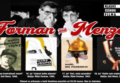 Класици чешког филма у Градском позоришту – Форман и Менцл