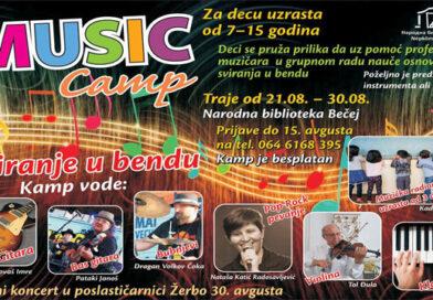 Rokenrol Muzički kamp za decu i ove godine