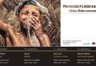 Француски филмски караван од 9. до 12. септембра