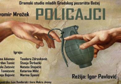 """Premijera predstave """"Policajci"""" našeg Dramskog studija mladih"""