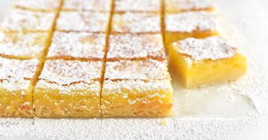 Лимун коцке (Lemon bars)