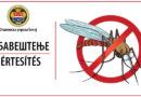 Обавештење о сузбијању адултних форми комараца на територији општине Бечеј