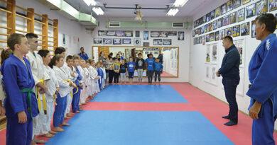 Új szőnyegek a Mladost Dzsúdó Klubnak