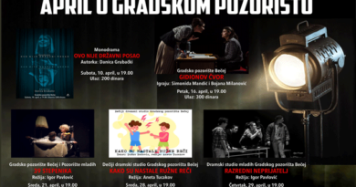 Градско позориште Бечеј: Априлски програм и расписан конкурс за Мајске игре