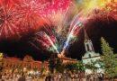 Óbecse éjjel fergeteges tűzijátékkal