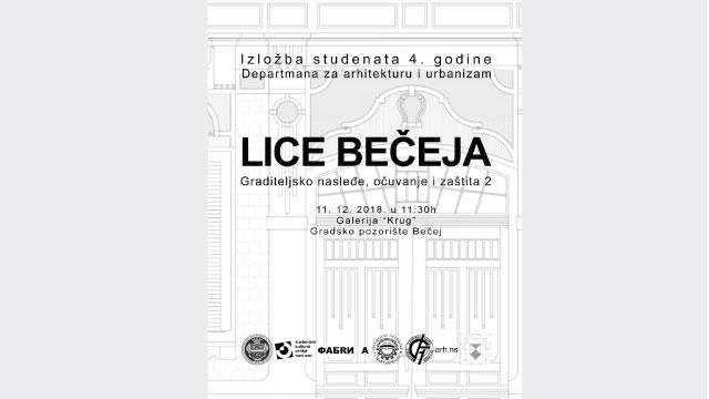 "Izložba radova studenete arhitekture ""Lice Bečeja"""