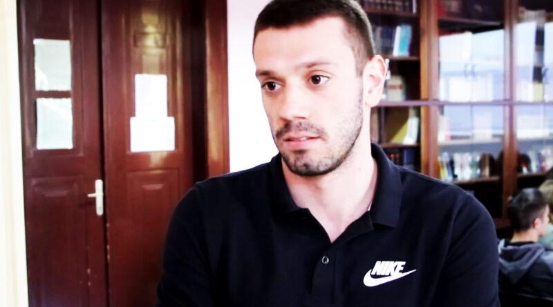 Чаба Силађи, промотер спортског одељења Гимназије